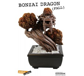 Bonsai Dragon Statue Fall 25 cm